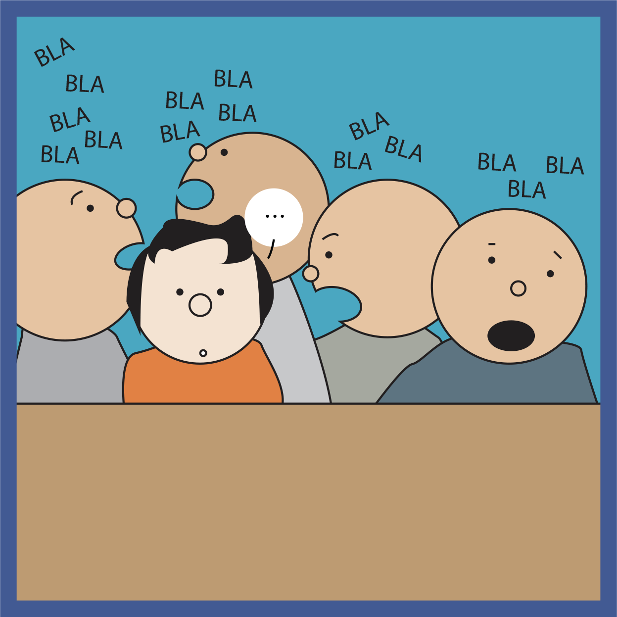 [Cartoon] L'assertivité, ça se travaille à l'EAP