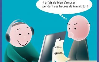 [Cartoon] L'e-learning, ça se passe comme ça à l'EAP