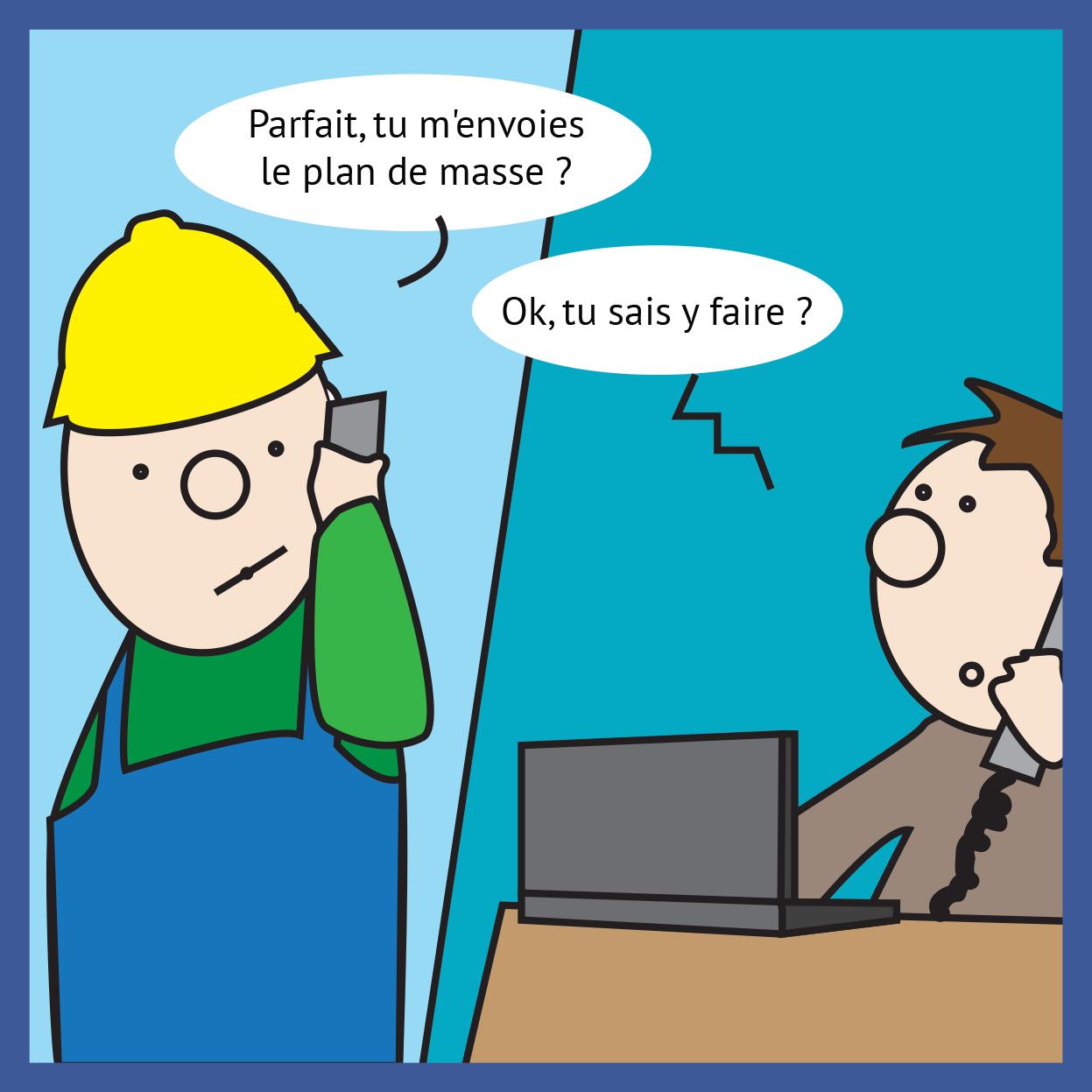 [Cartoon] La bureautique, une histoire de formation continue