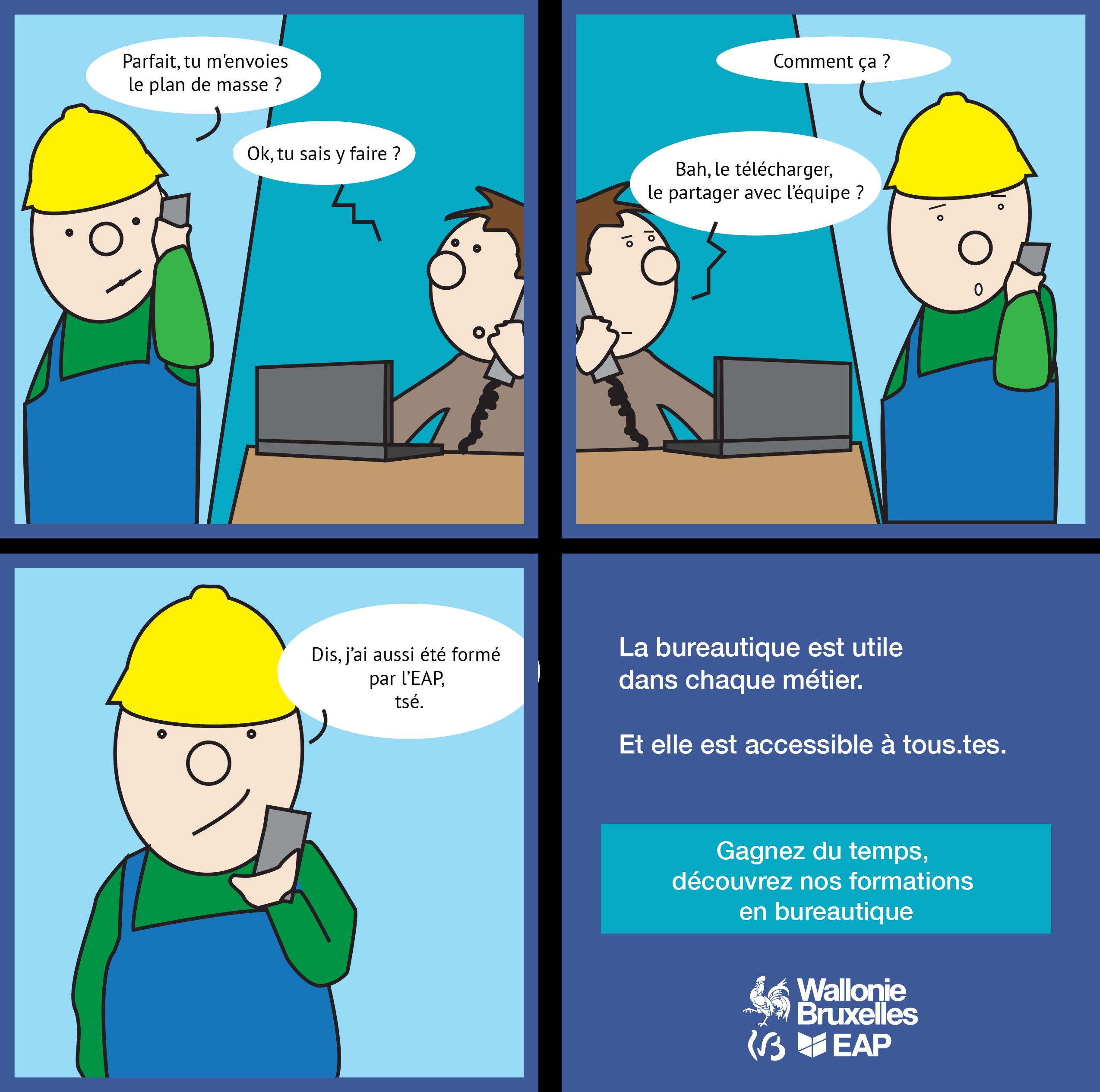 La bureautique, une histoire de formation continue