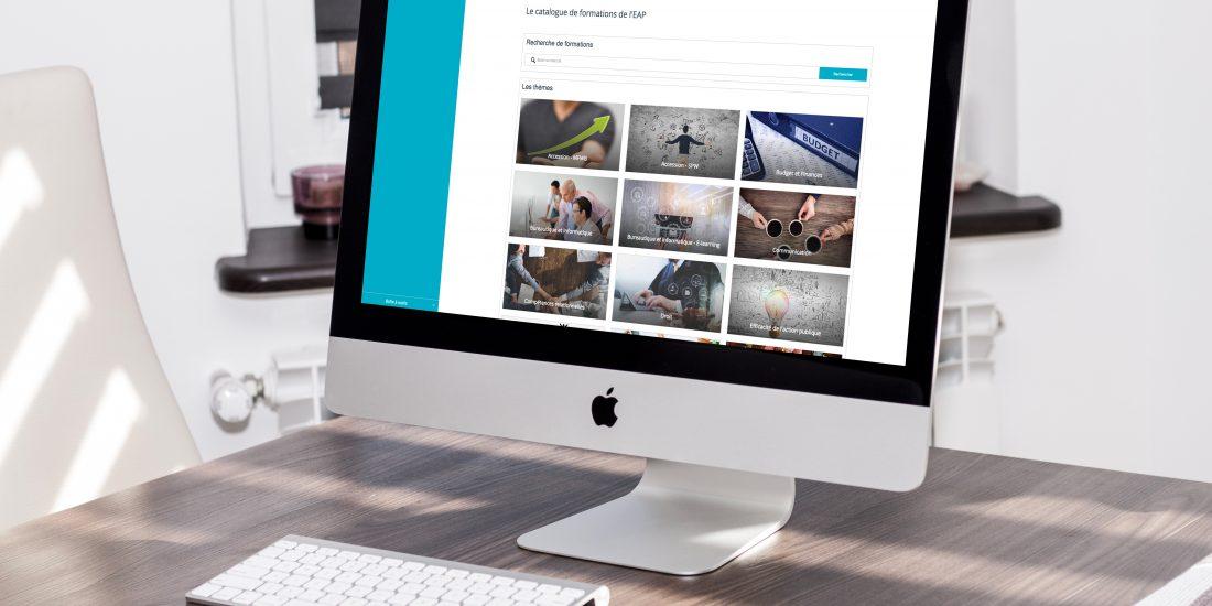 La plateforme de l'EAP : un espace collaboratif pour vos formations !