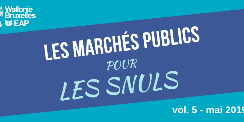 [Quiz] Marchés publics #5 : Une PNDAPP, un lot... késako ?
