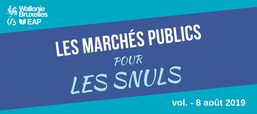 [Quiz] Marchés publics #8 : dialogue compétitif, marché conjoint, PCAN