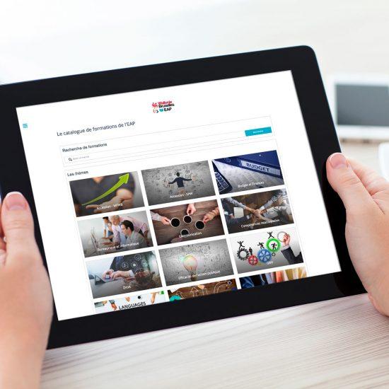 La plateforme de l'EAP : un cas concret de transformation digitale