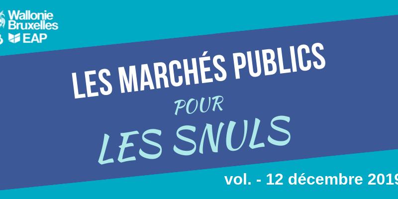 [Quiz] Marchés publics #12 : faible montant, standstill et principe de négociation